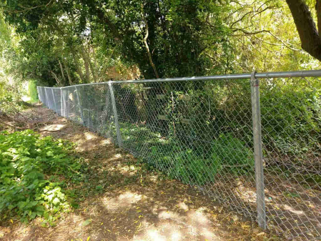 Chain Link Fence Wallpaper: Chain Link Fencing Project